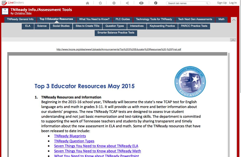 TNReady Resources