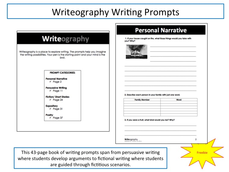 tcap writing prompts